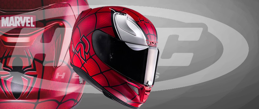 HJC RPHA 11 - SPIDERMAN / MC1SF - Integralhem / Sporthelm / Motorradhelm